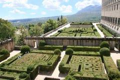 kloster spain för el escorial Arkivbilder
