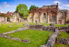 Kloster St. Augustines Abbey Benedictine bleibt in Canterbury Lizenzfreie Stockfotos