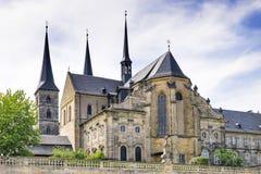 Kloster-St. Michael Bamberg Stockfotos