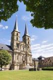 Kloster-St. Michael Bamberg Stockbild