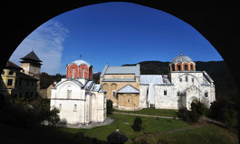 Kloster Studenica, Serbien Stockbilder