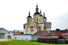 Kloster Svyato-uspenskii Vishenskii stockfotografie