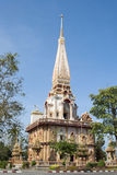 Kloster (Thailand) Arkivbild