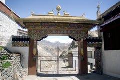 Kloster, Tiksey, Ladakh, Indien Lizenzfreie Stockfotografie