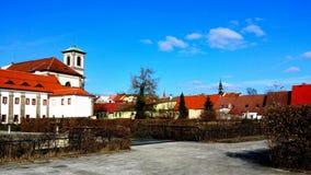 Kloster- trädgård Royaltyfri Bild