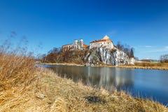 Kloster in Tyniec nahe Krakau Lizenzfreie Stockfotos