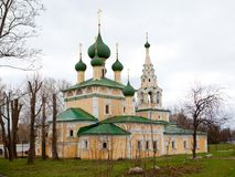 Kloster in Uglich, Russland Stockfotos