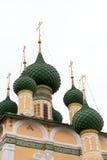 Kloster in Uglich, Russland Stockbilder