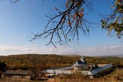 Kloster und Natur stockfotografie