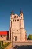 Kloster Unser Lieben Frauen i Magdeburg, Tyskland Arkivfoton
