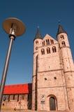 Kloster Unser Lieben Frauen i Magdeburg, Tyskland Arkivfoto