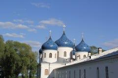 Kloster in Velikiy Novgorod Stockbilder