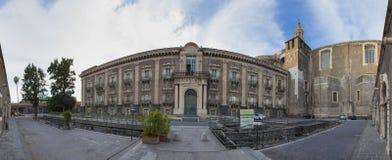 Kloster von ² L ` Arena Benedettini di San Nicolà Stockfoto