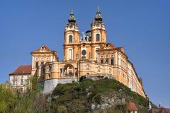 Kloster von Melk, Österreich stockfotos