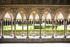 Kloster von Mont Str. Michel Lizenzfreie Stockfotos