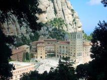 Kloster von Montserrat spanien Stockfotos