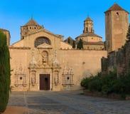 Kloster von Poblet, Spanien Lizenzfreie Stockfotos