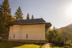 Kloster von Robaia, Arges, Rumänien lizenzfreies stockbild