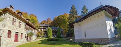 Kloster von Robaia, Arges, Rumänien stockfotos