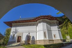 Kloster von Robaia, Arges, Rumänien stockfotografie