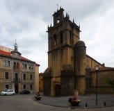 Kloster von Samartin in Salas asturias Stockfoto