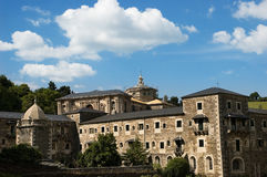 Kloster von Samos Stockfotos