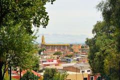 Kloster von San Gabriel Church, Cholula, Mexiko Stockfotos