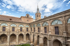 Kloster von San Millan de Yuso in Rioja, Spanien lizenzfreies stockfoto