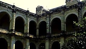 Kloster von Santo Domingo de Guzman stock footage