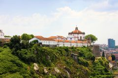 Kloster von Serra tun Pilar, Landhaus Nova de Gaia, Porto, Portugal Lizenzfreie Stockbilder