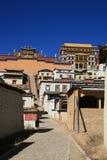 Kloster von Shangrila Lizenzfreie Stockfotos