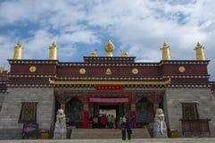 Kloster von Shangrila stockbilder