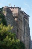 Kloster von St. Barbara in Griechenland Stockfotos