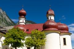 Kloster von St.Bartholomä Stockfotos