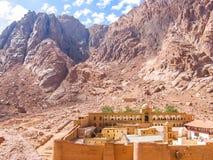Kloster von St. Catherine Egypt Lizenzfreie Stockbilder