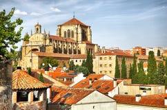 Kloster von St Stephen in Salamanca Stockfotografie