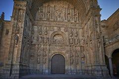 Kloster von St Stephen Soto-Treppenhaus Salamanca spanien lizenzfreies stockbild