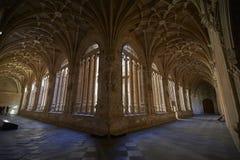 Kloster von St Stephen Soto-Treppenhaus Salamanca spanien lizenzfreie stockbilder