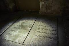 Kloster von St Stephen Soto-Treppenhaus Salamanca spanien lizenzfreie stockfotos