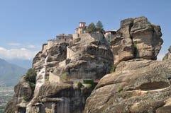 Kloster von Varlaam, Griechenland. Meteora Stockbilder
