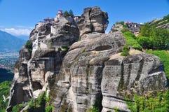 Kloster von Varlaam, Meteora, Griechenland Lizenzfreies Stockfoto
