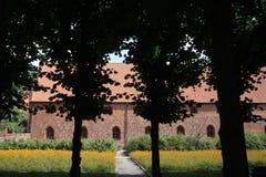 Kloster Vor Frue, ein Carmelite Kloster in Elsinore Helsing Stockfotos