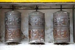Kloster Yiga Choeling, Darjeeling, Indien stockbild