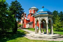 Kloster Zica Arkivbilder