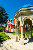 Kloster Zica Arkivfoton