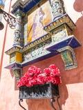 Klosterbroder väggrelikskrin, Ayamonte, andalucia, Spanien Royaltyfria Foton
