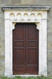 Klosterdörrar i Cortona, Italien Arkivfoto