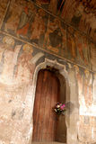 Klostereingang stockbilder
