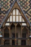 Klosterhärbärgar de dieu i burgundy Royaltyfria Bilder