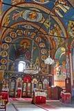 Klosterinnenraum stockbilder